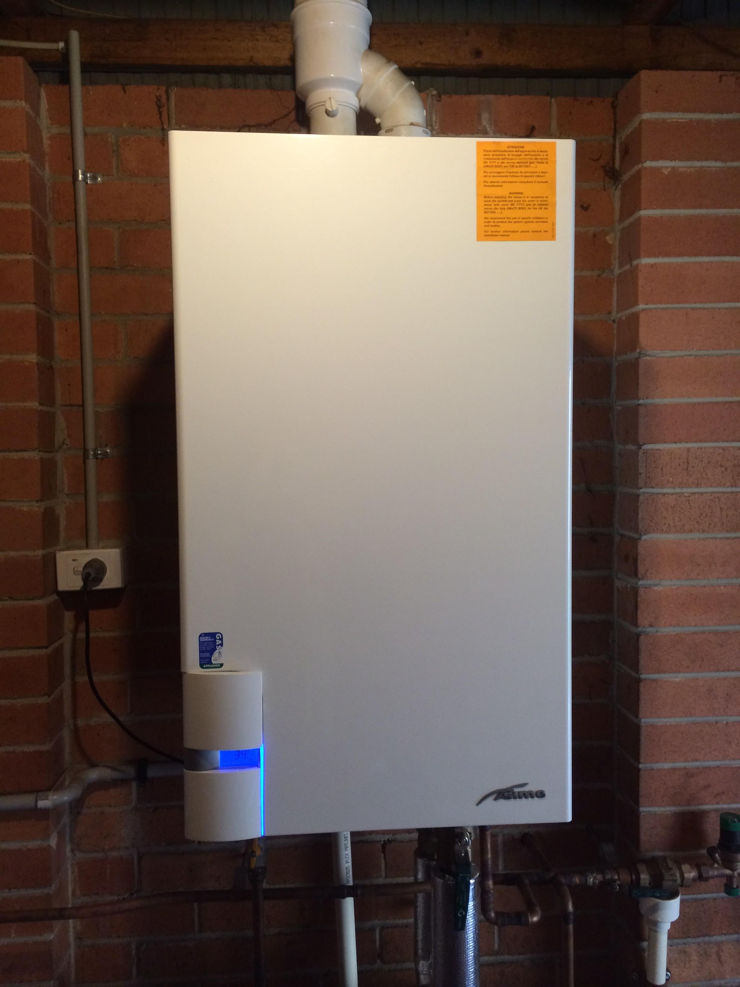 Condensing Boiler: Sime Condensing Boiler